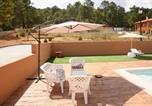 Location vacances Villar de Domingo García - Villa with 7 bedrooms in Villalba de la Sierra with wonderful mountain view private pool enclosed garden-4