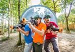 Camping avec Hébergements insolites Pays de la Loire - Yelloh! Village - Château La Foret-4