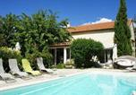 Location vacances Cuges-les-Pins - Alluring Holiday Home in Aubagne France with Fireplace-1