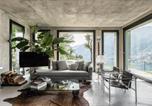 Location vacances  Province de Côme - Design Villa in Torno-3