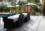 Location vacances Biot - Villa climatisée 4 chambres piscine jardin-3