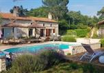 Location vacances Cézac - House with one bedroom in Bussac Foret with shared pool and Wifi-1