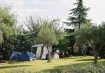 Camping avec Piscine couverte / chauffée Pradons - Camping Les Paillotes en Ardèche-2