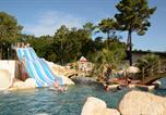 Camping avec Parc aquatique / toboggans Les Mathes - L'Orée du Bois-1