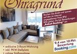 Location vacances Oberhof - Apartment Ohragrund-4