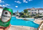 Location vacances  République dominicaine - Beachfront Studio @Cadaquescaribe Bayahibe-3