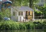 Camping avec Hébergements insolites Port-en-Bessin-Huppain - Camping Les Rochers des Parcs-1