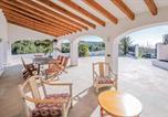 Location vacances Benissa - Benissa Villa Sleeps 9 Wifi-4