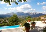 Location vacances Cuges-les-Pins - Villa with 4 bedrooms in Roquevaire with private pool furnished garden and Wifi 22 km from the beach-1