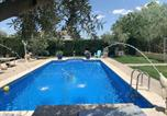 Location vacances Baza - Villa with 7 bedrooms in Baza with wonderful mountain view private pool enclosed garden-2
