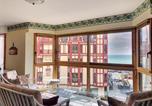 Location vacances  Manche - Apartment Granville appartement en duplex de type f4 avec vue sur en centre ville-3