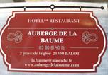 Hôtel Maisons-lès-Chaource - Auberge de la Baume-3