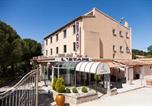 Hôtel Bouc-Bel-Air - L'etape- Gardanne- plan de campagne-3