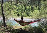 Camping avec Piscine Saint-Martin-de-Queyrières - Camping Domaine de l'Ubaye-2