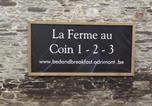 Location vacances Lierneux - La Ferme au Coin 1-2-3-3
