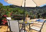 Location vacances Moraleda de Zafayona - Villa with 6 bedrooms in Montefrio with wonderful mountain view private pool furnished terrace-4