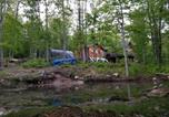 Location vacances Saint-Casimir - Les cabines Nordik des piles-3