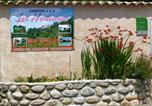Camping avec Site nature Beaumont - Camping Les Hortensias-4