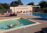 Camping avec Piscine Chauzon - Camping Le Coin Charmant-1