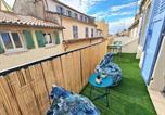 Location vacances Toulon - Gregbnb - Centre Ancien - Studio Roof-Top - Climatisé - 5eme étage-3