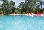 Camping avec Ambiance club Aquitaine -  Camping des Pins - Camping Paradis-1