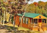 Villages vacances Green Lake - Arrowhead Camping Resort Deluxe Cabin 6-1