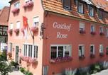 Hôtel Haßfurt - Dorfgasthof &quote;Zur Rose&quote;-3