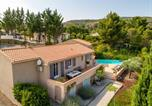 Location vacances Villeneuve-Minervois - Serene Villa in Caunes-Minervois with Private Pool-1