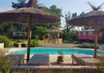 Location vacances Cézac - House with one bedroom in Bussac Foret with shared pool and Wifi-3
