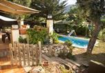 Location vacances Santa Cristina d'Aro - Roca de Malvet Villa Sleeps 6 Pool Wifi-3