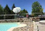 Location vacances Brommat - Property with 3 bedrooms in Argences en Aubrac with shared pool furnished terrace and Wifi-1