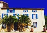 Hôtel Bize-Minervois - Maison des Palmiers-1