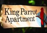 Location vacances South Mission Beach - King Parrot Apartment set amid the beautiful & peaceful rainforest with garden views-1