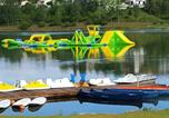 Camping avec WIFI Haute-Garonne - Camping Le Lac De Thesauque-3