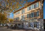 Hôtel Rocbaron - Hotel Restaurant Le Castel Fleuri-4
