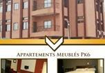 Location vacances  Bénin - Appartement Mosaly Pk6-1