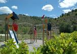 Camping avec Piscine couverte / chauffée Ruoms - Flower Camping Saint Amand-3