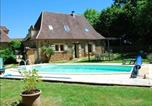 Location vacances Vergt - House with one bedroom in Sainte Alvere with private pool furnished garden and Wifi-1