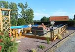 Location vacances Poilley - The Cabin with heated outdoor pool-3