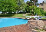 Location vacances Sant Miquel de Campmajor - Faras Villa Sleeps 13 with Pool-1