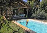 Location vacances Gignac - Chalet cocooning climatisé avec piscine-1