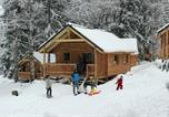 Camping  Acceptant les animaux Savoie - Les Chalets Huttopia de Bozel-2