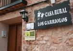 Location vacances Castellar de Santiago - Casa Rural Los Garriolos-1