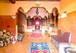 Location vacances Ouarzazate - House with 5 bedrooms in Ait Ben Haddou with wonderful mountain view furnished garden and Wifi 300 km from the slopes-4