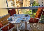 Location vacances Menton - Menton 2 pièces 4 personnes avec grande terrasse au calme plage à pied-2