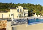 Location vacances Podbablje - Villa Melani with pool - Poljica-1