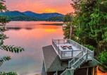 Location vacances Lake Lure - New Lakefront Home with Canoe, Game room and Boat House!! home-1