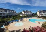 Location vacances Pleuven - Vacances Ô Cap Coz - Jardin vue mer - Résidence Cap Azur Fouesnant-2