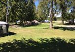 Camping avec Site nature Doucier - Domaine du Bugnon-4