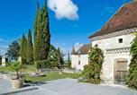 Location vacances Saint-Urcisse - Grand Castle in Saint Caprais de Lerm with Sauna & Jacuzzi-4